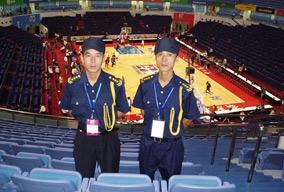太安盛世承担CBA篮球比赛安全护卫工作