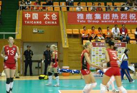 太安盛世承担亚洲女排锦标赛安全护卫工作