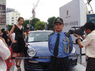 中力保安东莞车展保安服务