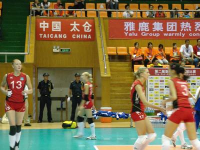 太安盛世亚洲女排锦标赛保安服务